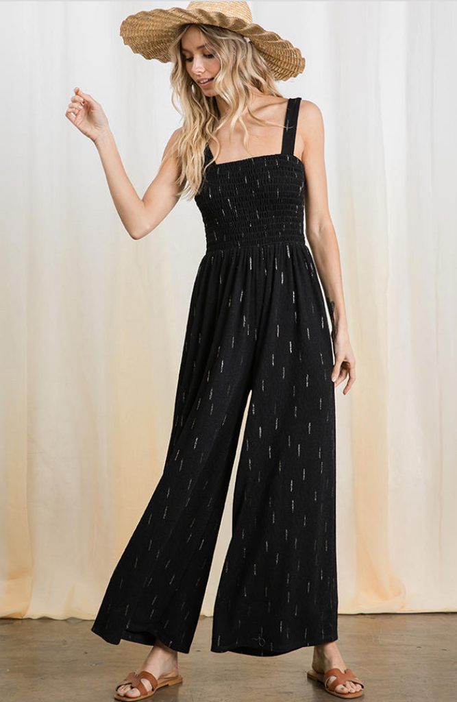 Jemima Jumpsuit -- Black