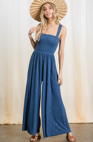 Jemima Jumpsuit -- Blue