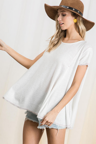 Paige Top -- Ivory