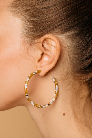 Luna Hoops -- Sunflower