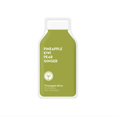 Pineapple Bliss Revitalizing Raw Juice Mask