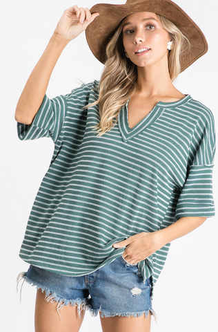 Necole Top -- Teal