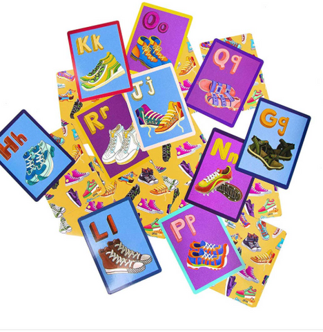 K is for Kicks--Go Fish Playing Cards