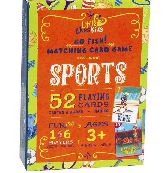 Sports--Go Fish Playing Cards