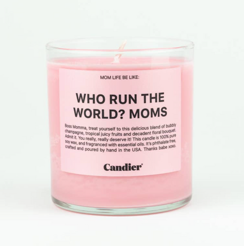 Who Run The World Candle