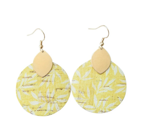 Macy Earrings -- Buttercup