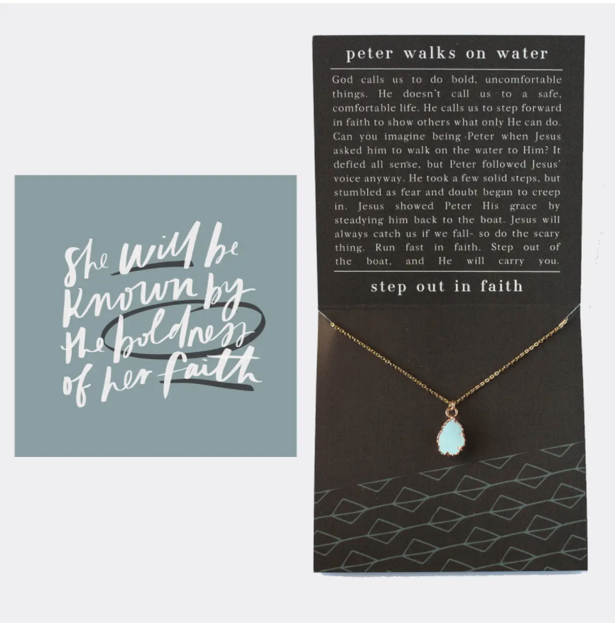 Walks on Water Necklace