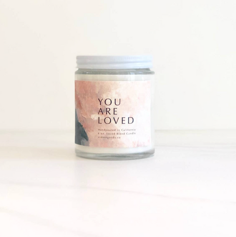You are Loved Candle