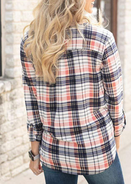 Knit Plaid Button Up -- North Shore Plaid