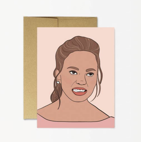 Chrissy Teigan Card