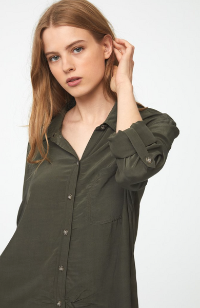 Copelyn Top -- Dark Olive
