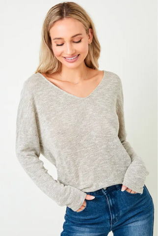 Evanne Shimmer Sweater