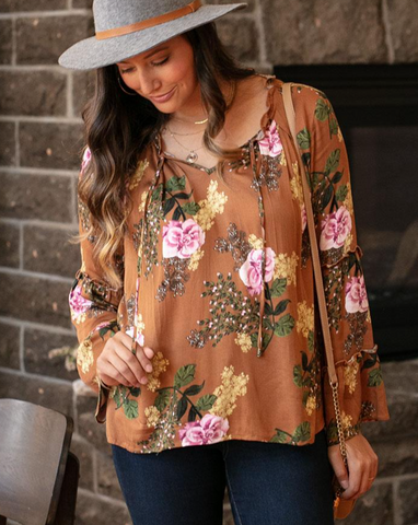 Sable Top -- Earth Floral