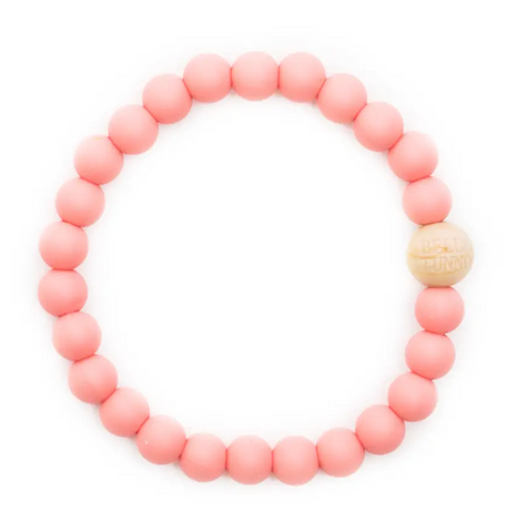 Carson Coral Teething Bracelet
