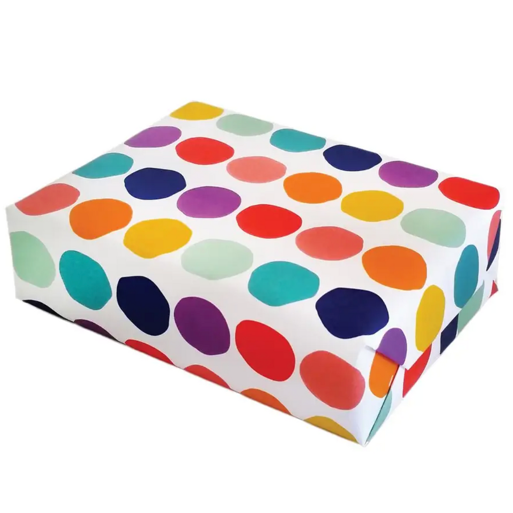 Rainbow Dot Gift Wrap