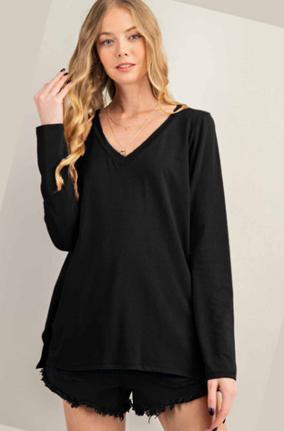 Maelyn Top -- Black