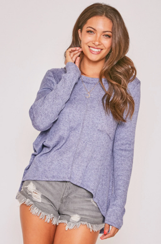 Shelby Top --Denim
