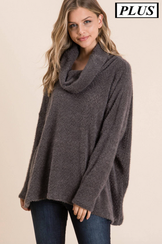 Kayla Sweater -- Charcoal