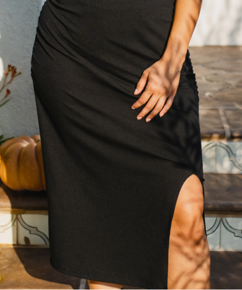 Los Feliz Dress -- Black