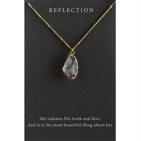 Reflection Necklace -- Gold