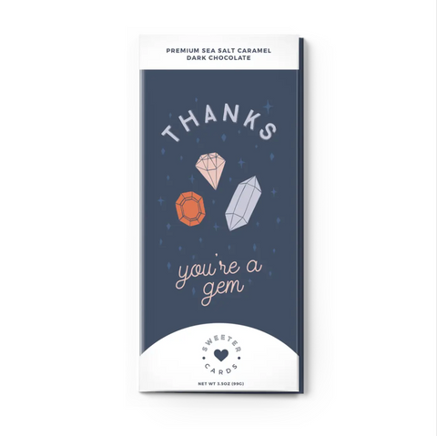Thank You Card + Chocolate Bar