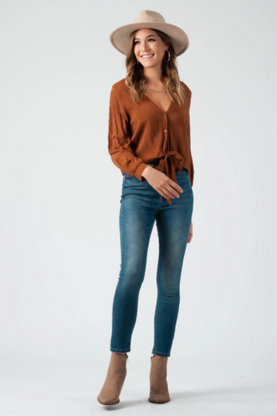 Savvy Top -- Bronze