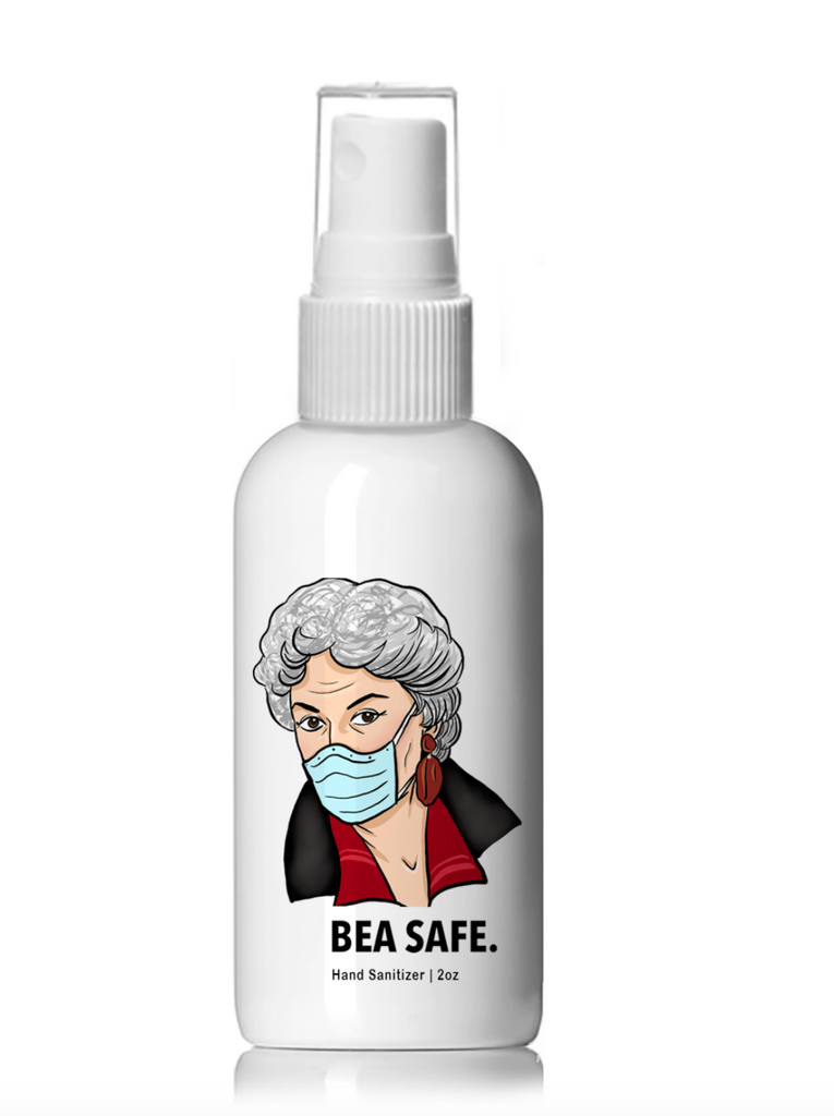 Bea Safe Golden Girls Spray Hand Sanitizer (4 oz.)
