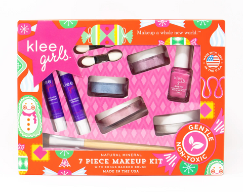 Klee Kids Natural Mineral Play Makeup Kit -- Merry & Bright Holiday
