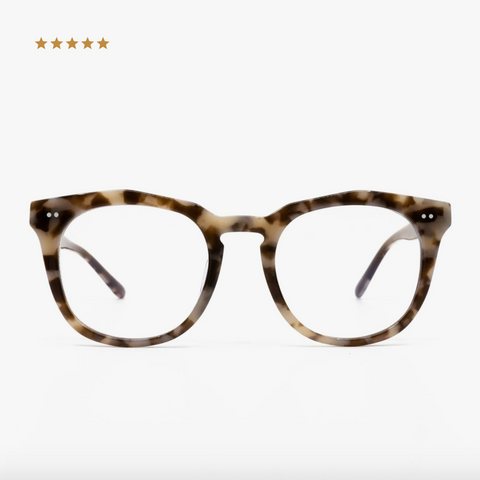 Diff Weston Blue Light Technology Glasses -- Mocha Tortoise