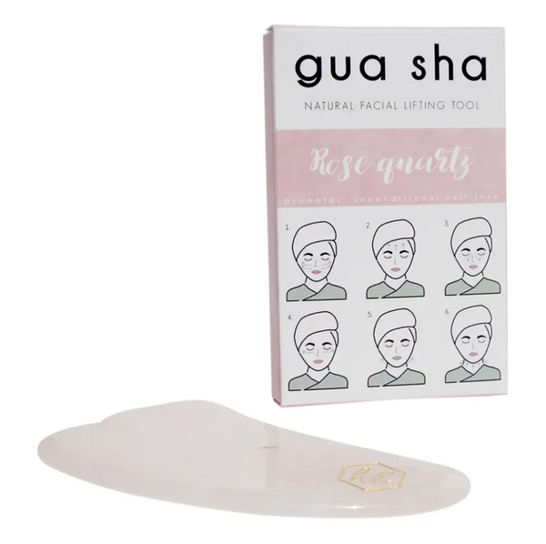 Gua Sha -- Rose Quartz