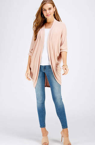 Kaley Cardigan -- Blush
