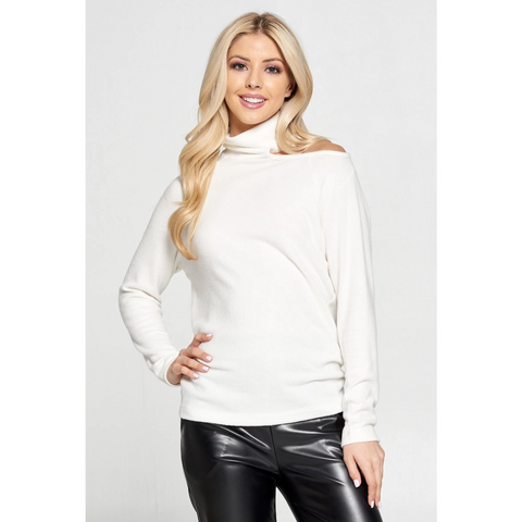 Lacey Top -- Winter White