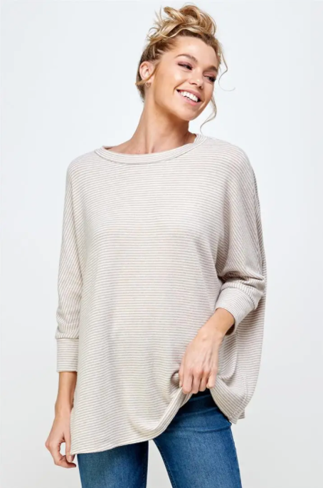 Maxine Top -- Taupe