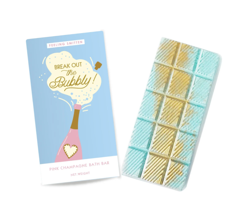 Break out the Bubbly! Rainbow Bath Bar