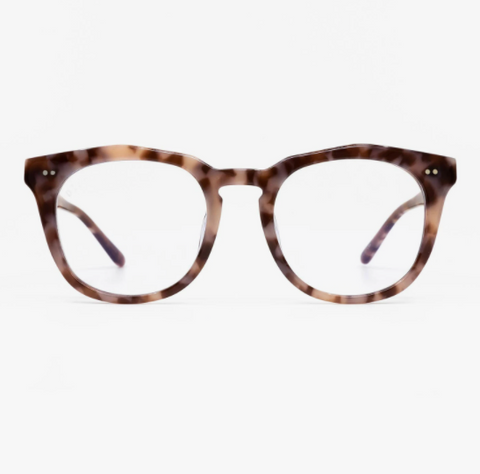 Diff Weston Blue Light Technology Glasses -- Plum Tortoise