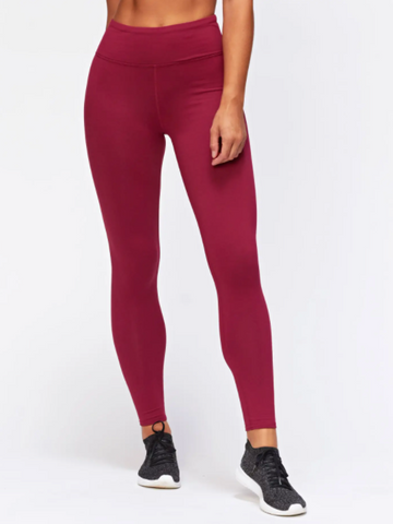 Monica Leggings -- Aubergine