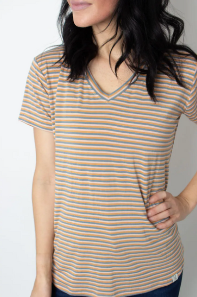 Peaches V-Neck