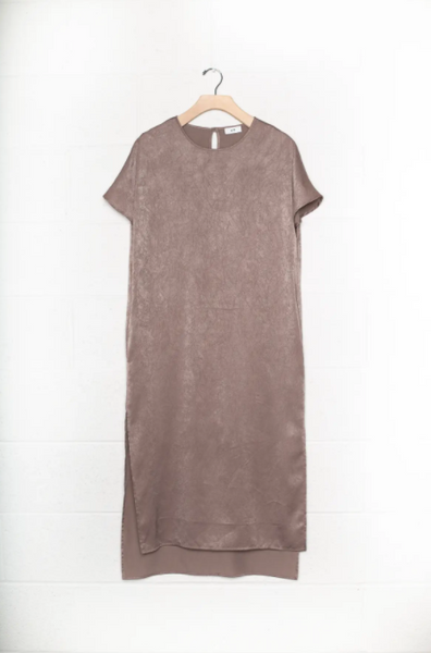Lenore Dress -- Brown