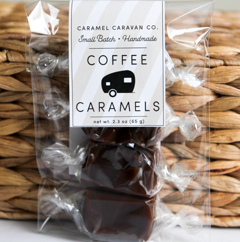 Coffee Caramels (4 Piece Bag)