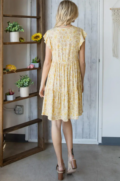 Colette Dress -- Yellow