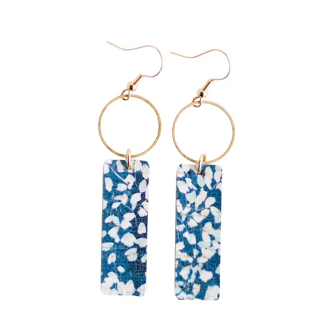 Mia Earrings -- Bluebell