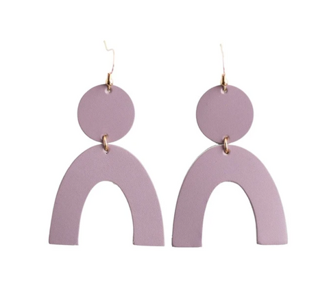 Rory Earrings -- Lavender