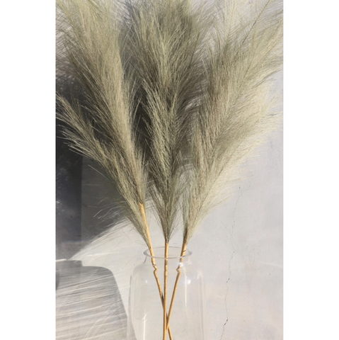 Large Fern Faux Pampas Grass Stem (In Store + Curbside Pick-up Only)