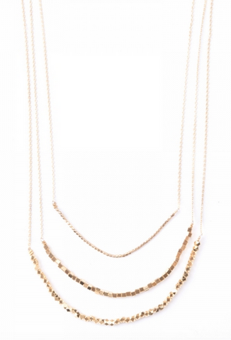 India Gold Ava Layered Necklace Gifts that Give
