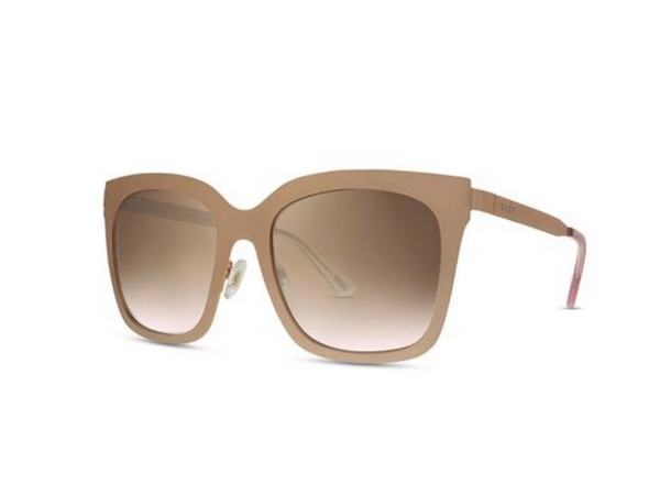 Diff Ella Sunglasses -- Rose Gold & Brown Gradient Lens