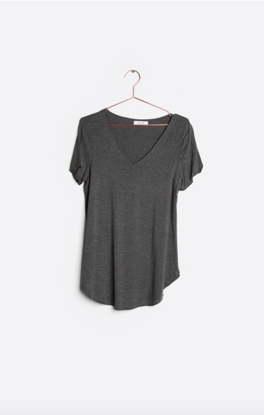 Everyday Tee -- Charcoal