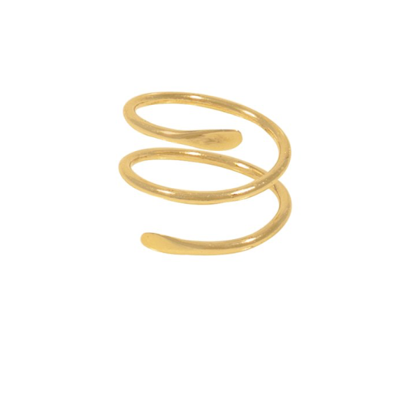 Goldie Ring -- Gold