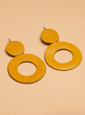 Stela Earrings -- Marigold