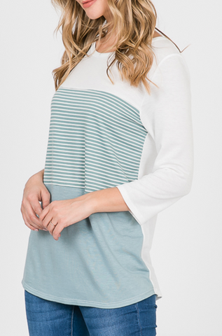 Lillian Striped Top