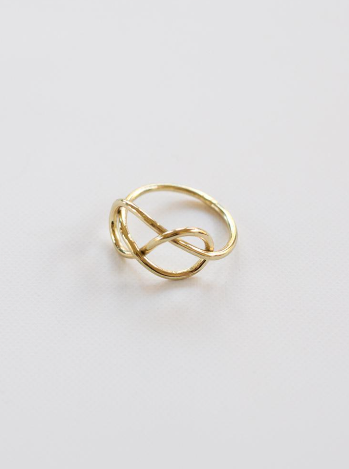 Top Knot Ring -- Gold